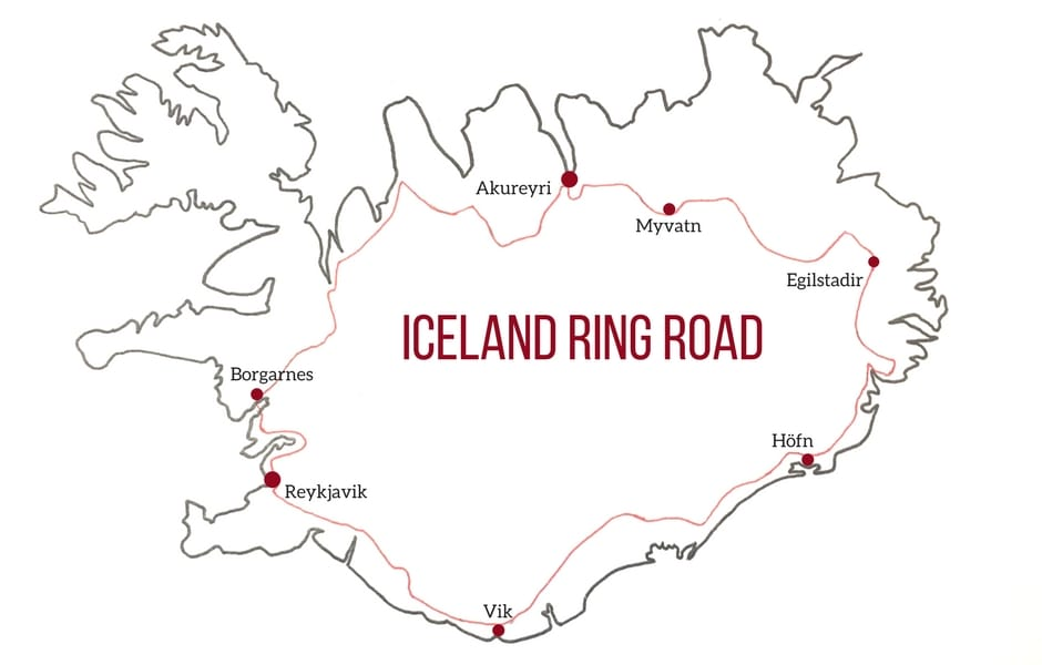 Iceland-Ring-Road-Map