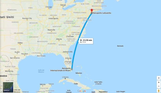 5 - Volo Miami - New York 30 Ago.