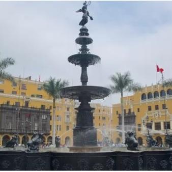Fontana plaza Mayor