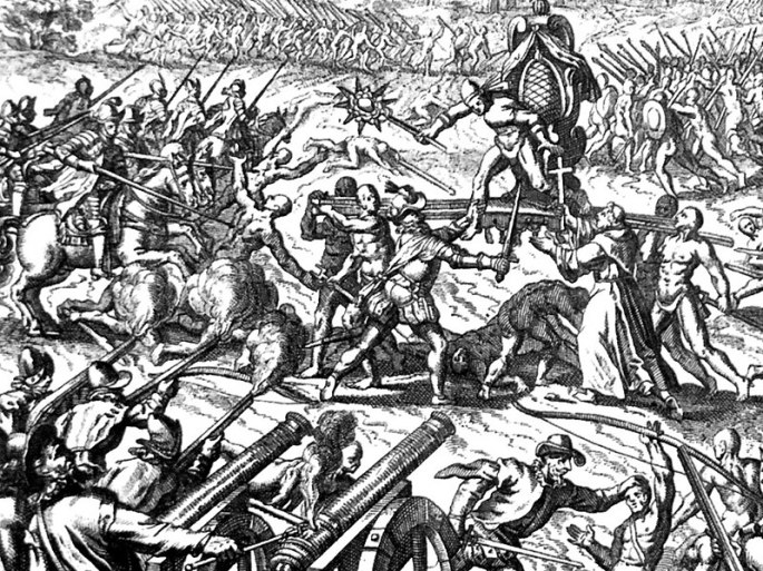 La battaglia di Cajamarca