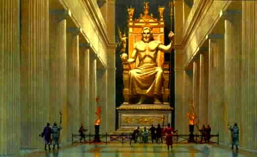 Zeus a Olimpia